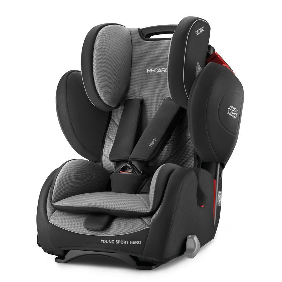 Recaro silla de coche young sport hero carbon black - Recaro silla coche ...