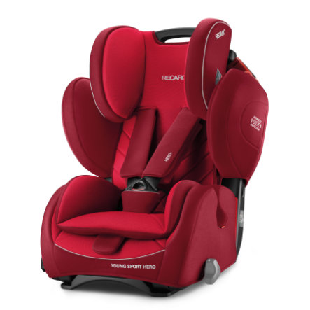 RECARO Siège auto Young Sport Hero Indy Red, 2018
