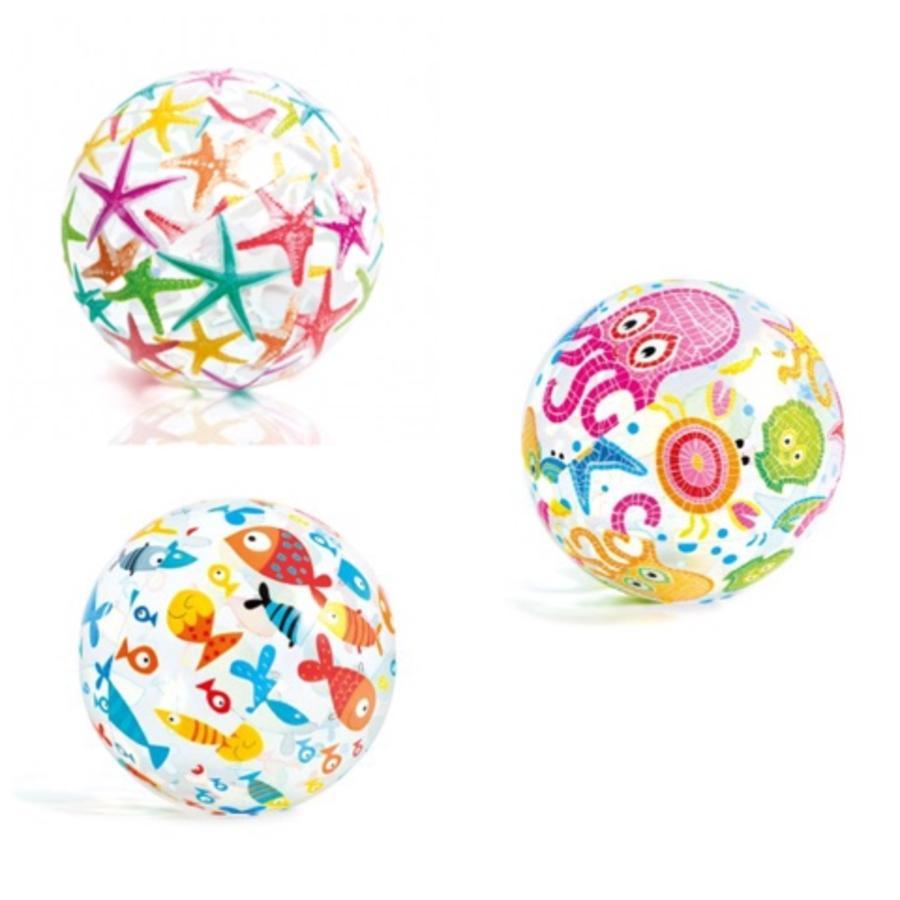 INTEX strandbold, kulørt 61 cm