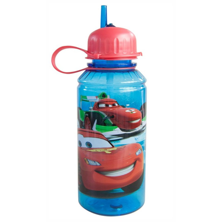 p:os Trinkflasche Cars