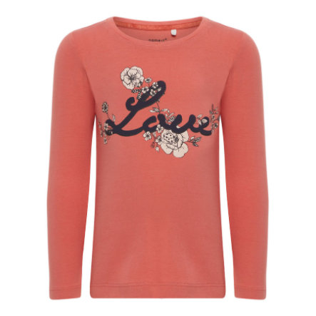 name it Girls Langarmshirt Etibba faded rose