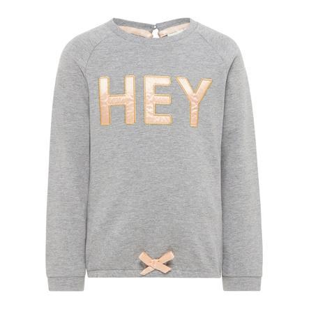 name it Girl s Sweatshirt Etlulu grijs melange