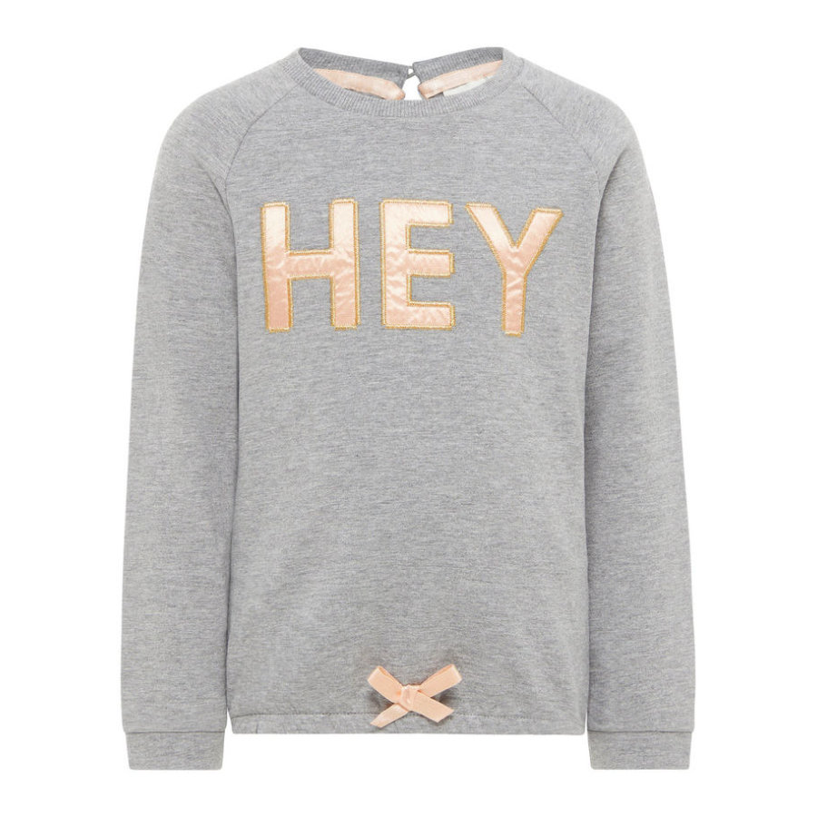 name it Girl s Sweatshirt Etlulu grijs melange