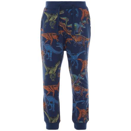 name it Boys Pantalon de survêtement habillé en bleu