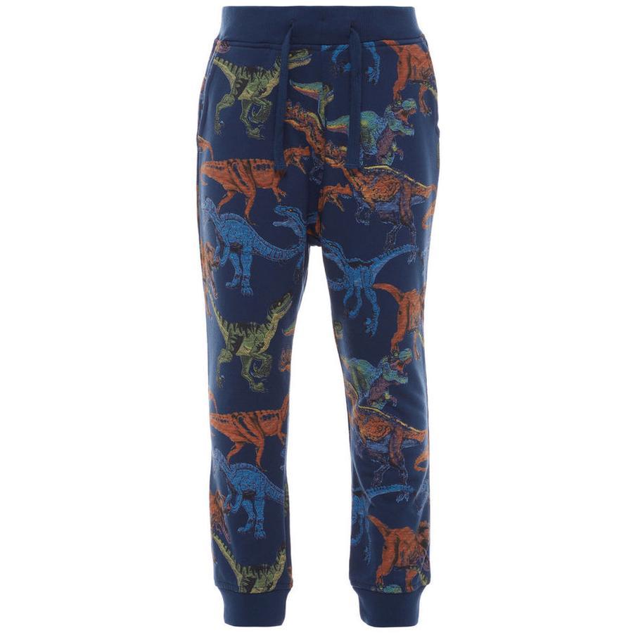 name it Boys Spodnie potowe ubierają się na niebiesko.