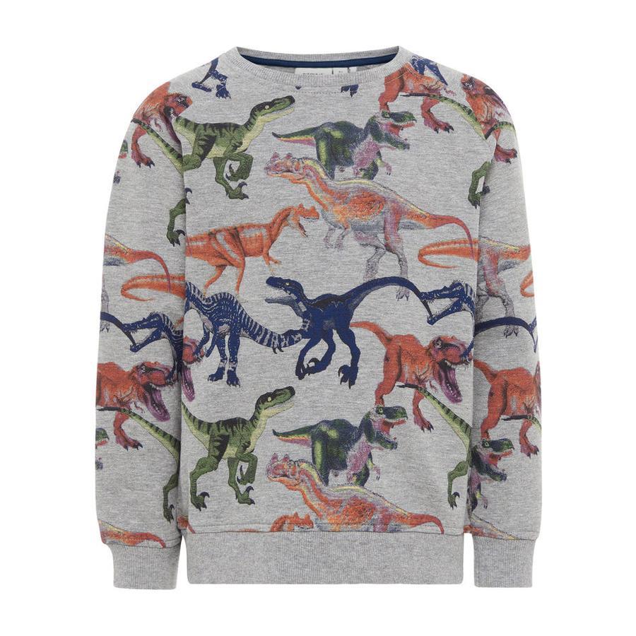 name it Sweatshirt Etrex gråmelerad