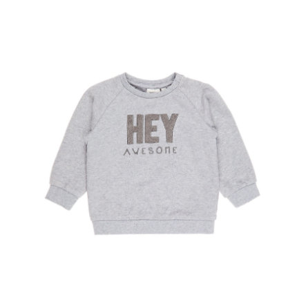 name it Boys Shirt met lange mouwen Arne grijs melange