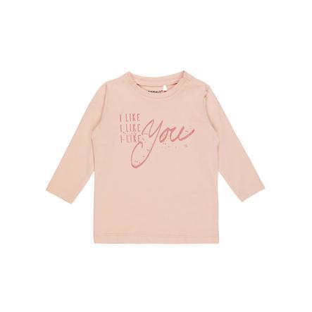 name it Girl s Camisa de manga larga Fidas evening sand