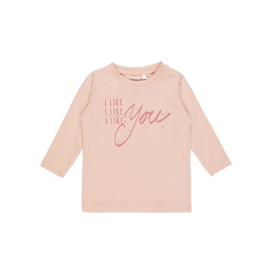 name it Girl s Overhemd met lange mouwen Fidas avondzand