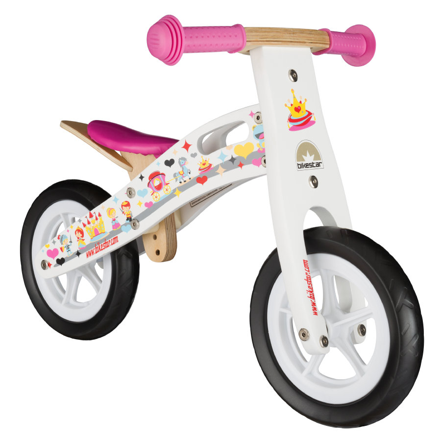 "bikestar Kinderlaufrad 10"" Holz Prinzessin"