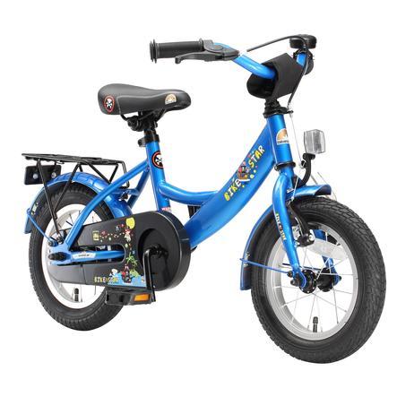 "bikestar Premium Sicherheits Kinderfahrrad 12"" Classic Blau"