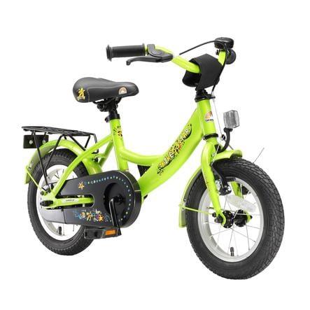 "bikestar Premium Sicherheits Kinderfahrrad 12"" Classic Grün"