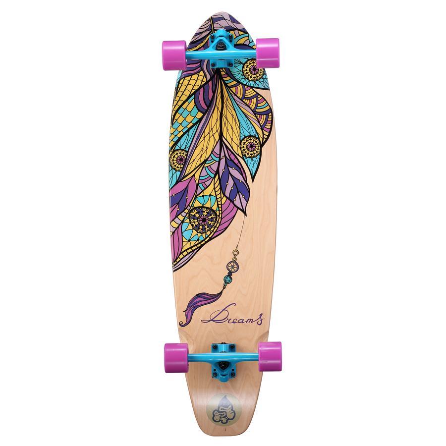 Star-Skateboard  Premium Canadian Longboard 65mm Puffball