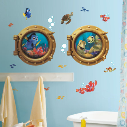 RoomMates® Disney - Findet Nemo Bullaugen