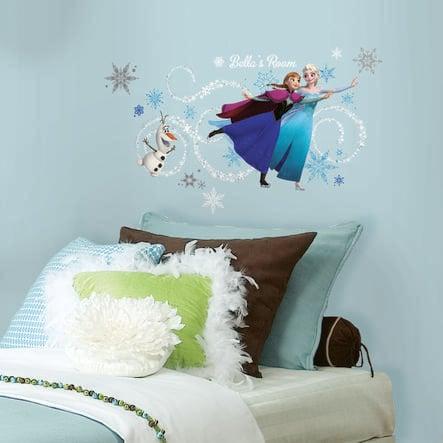 RoomMates® Disney´s Frozen - Anna, Elsa und Olaf mit Alphabet