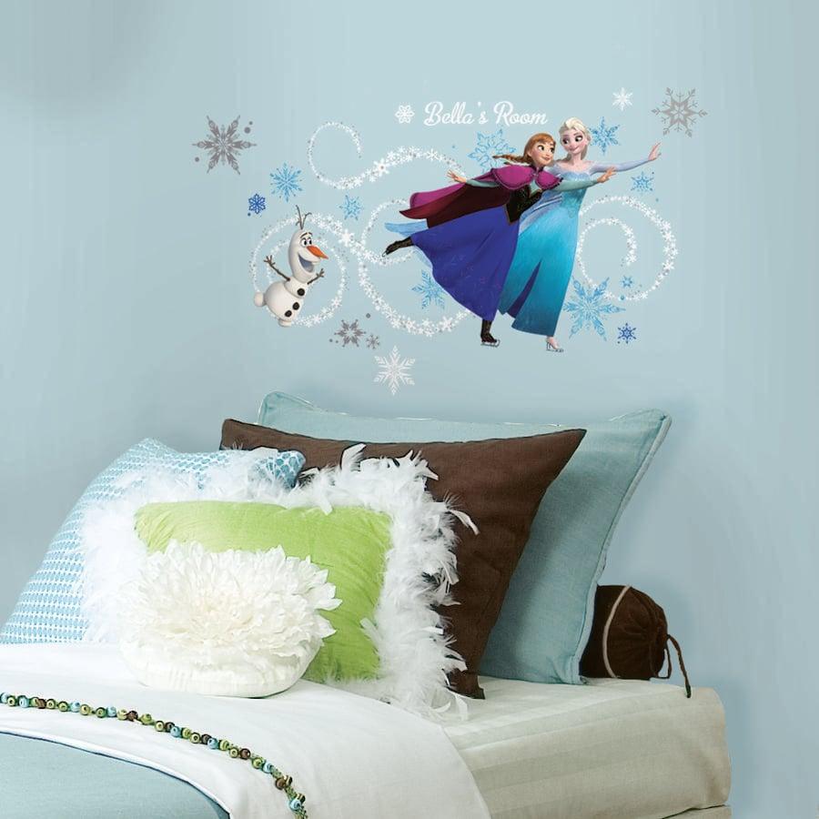 RoomMates® Disney´s Frozen - Anna, Elsa og Olaf med alfabetet