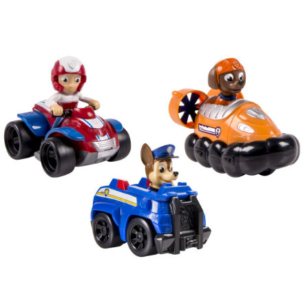 Spin Master Paw Patrol Rescue Racers  sada - Chase, Zuma, Ryder