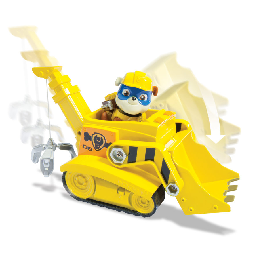 Spin Master Paw Patrol - Rubble Vehicle Crane