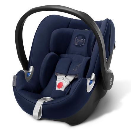 cybex PLATINUM Babyschale Aton Q i-Size Midnight Blue-navy blue