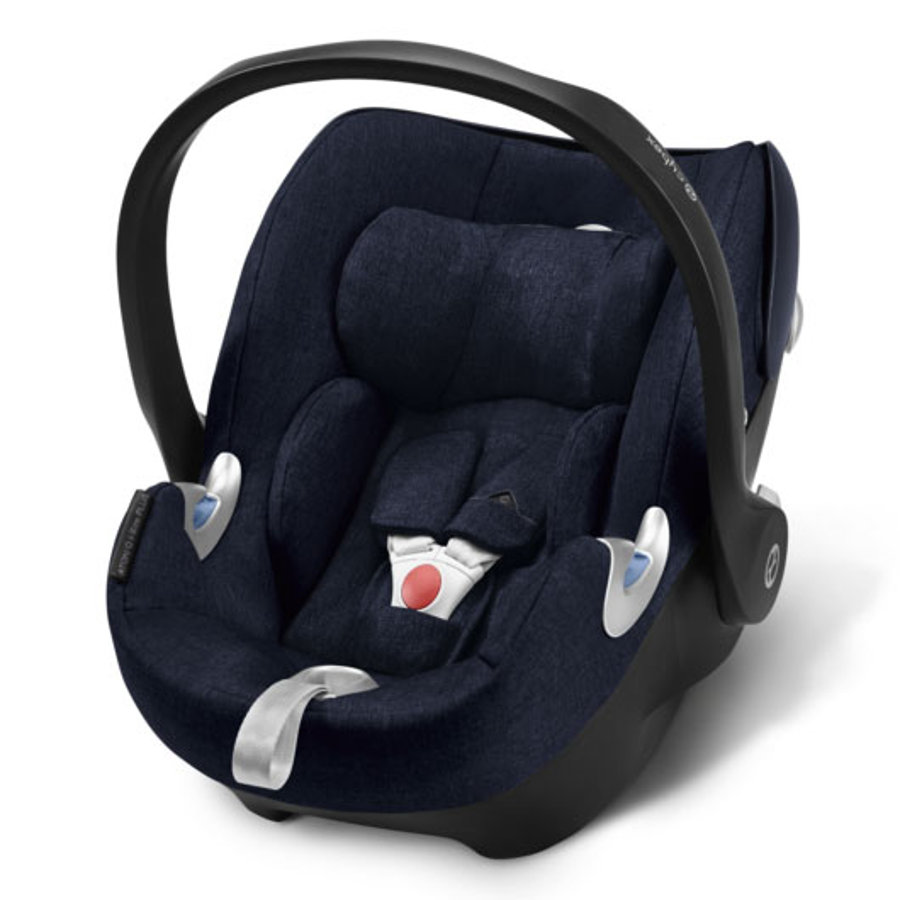 cybex PLATINUM Babyschale Aton Q Plus i-Size Midnight Blue-navy blue