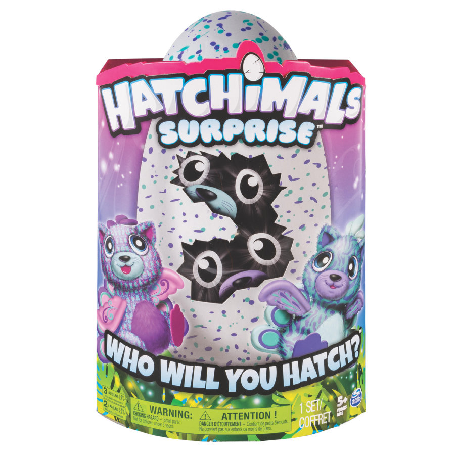 Spin Master Hatchimals - Surprise Purple Teal Egg