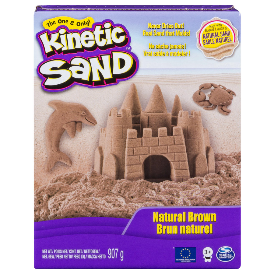 Spin Master Kinetic Sand -Brown Sand X Large