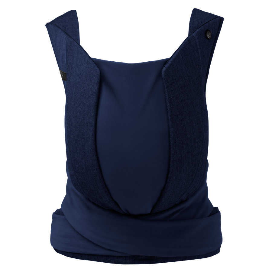 cybex PLATINUM Babytrage Yema Tie Denim Midnight Blue-navy blue