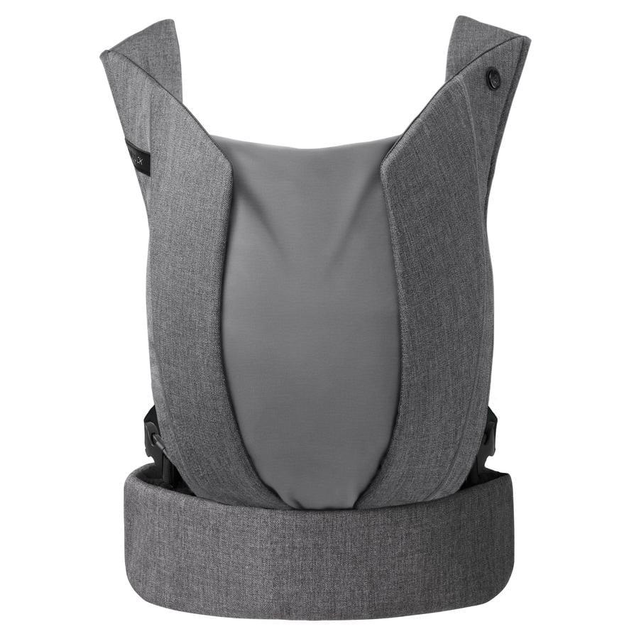 cybex PLATINUM Babytrage Yema Click Denim Manhattan Grey-mid grey