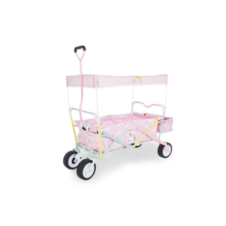 pinolino bollerwagen einhorn mit bremse baby. Black Bedroom Furniture Sets. Home Design Ideas