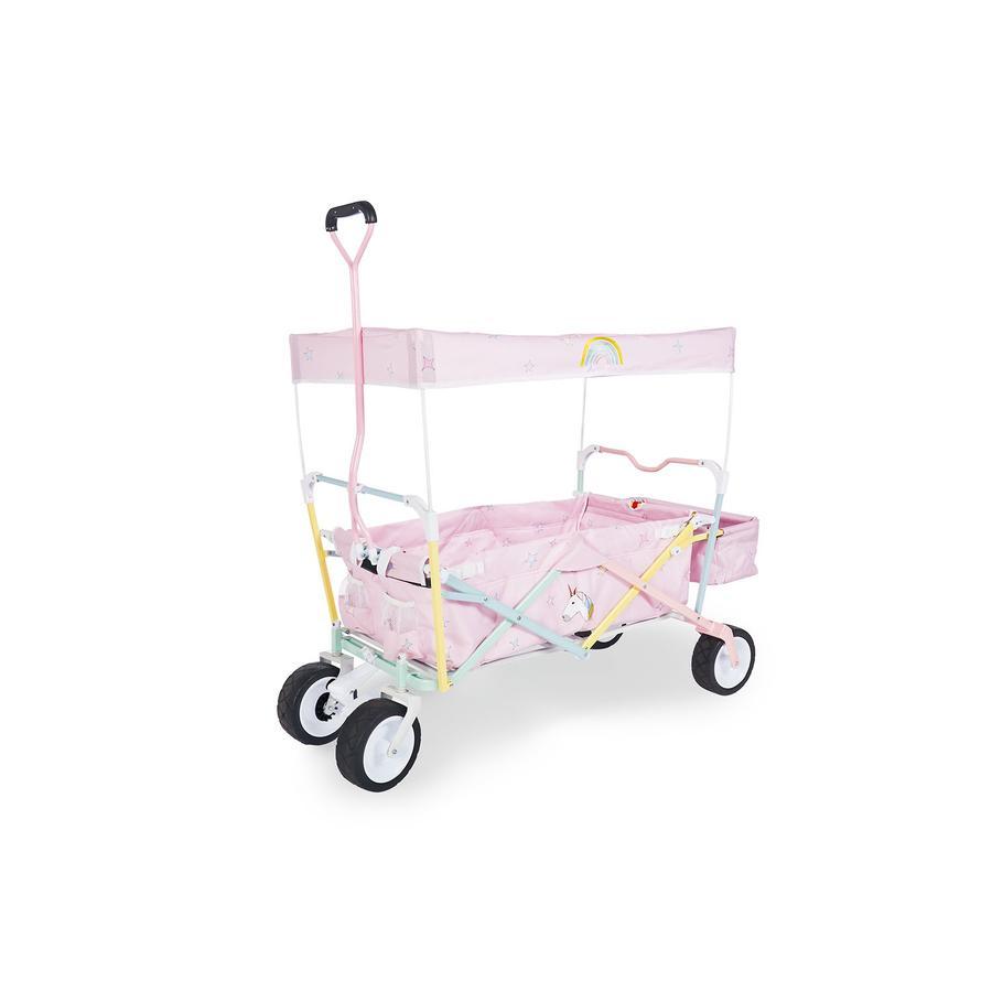 Pinolino Chariot de transport à main enfant Licorne avec frein