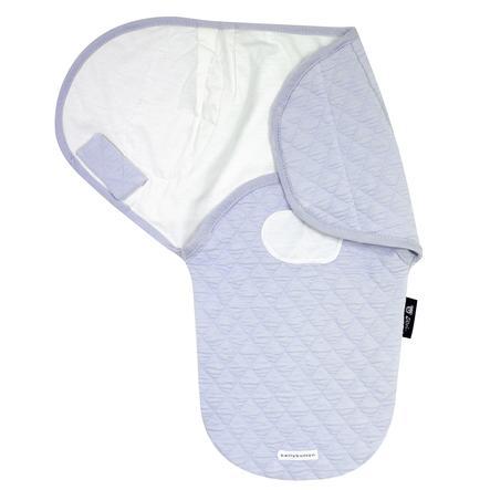 Alvi® bellybutton Couverture emmaillotage bébé Harmonie Classic Line Dream bleu