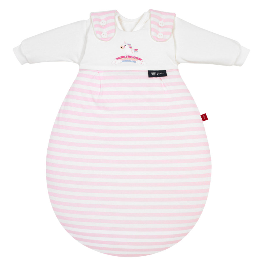 s. Olive r od Alvi Baby-Mäxchen® - originální 3dílná - jednorožec růžová