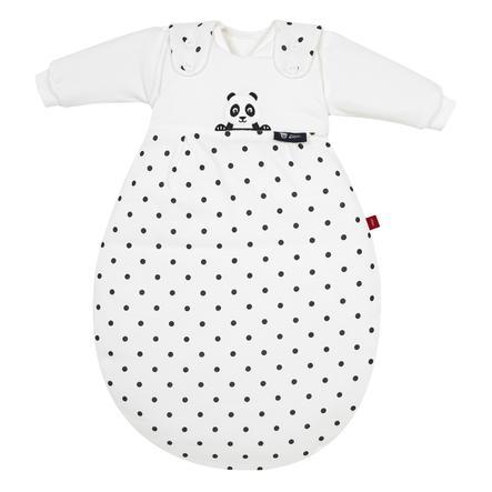 Alvi Baby-Mäxchen® Sovepose  - Original 3 deler  - Pandabjørn svart