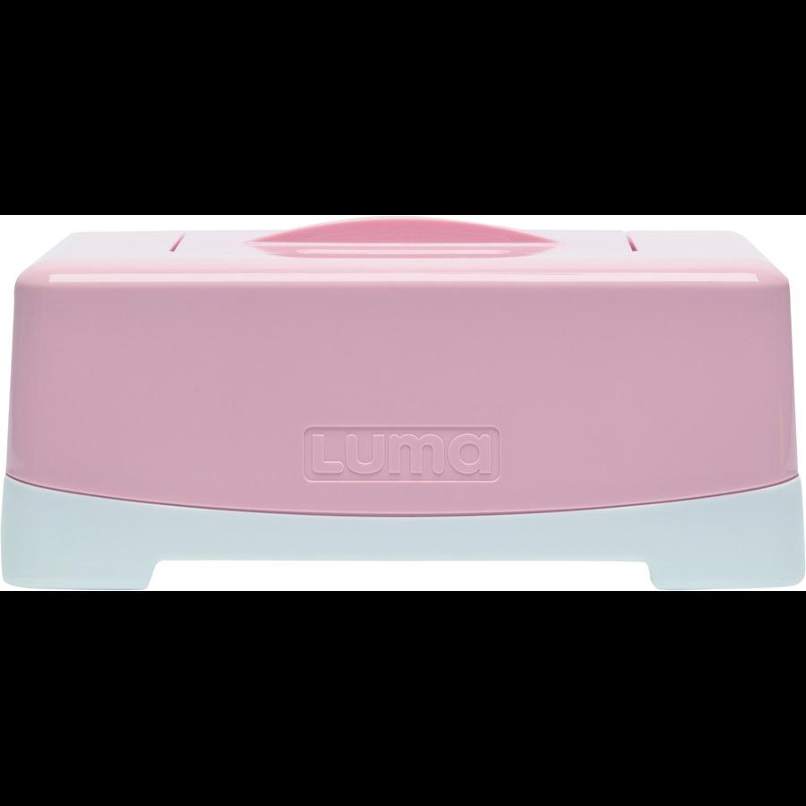 Luma® Babycare boks til våtservietter skyrosa