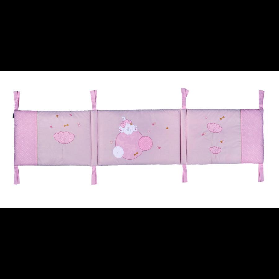 candide Tour de lit Mademoiselle rose
