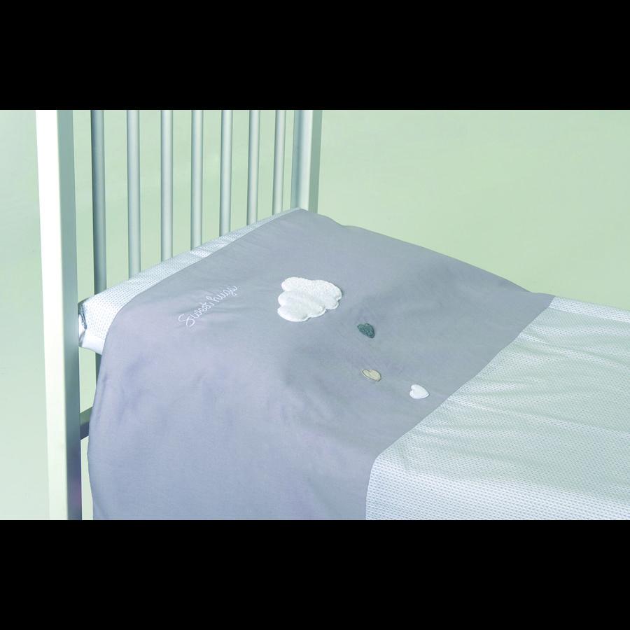 candide Set de lit capuchon gris, 2 pièces