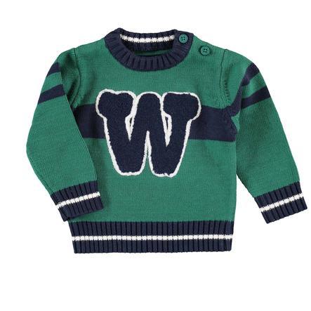BLUE SEVEN  Chlapecký pletený svetr zelený