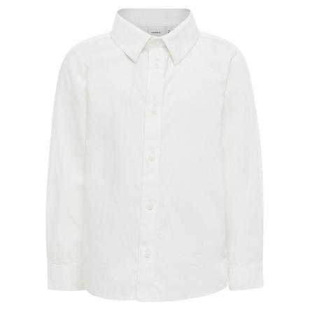 name it Boys Shirt Paks bianco brillante