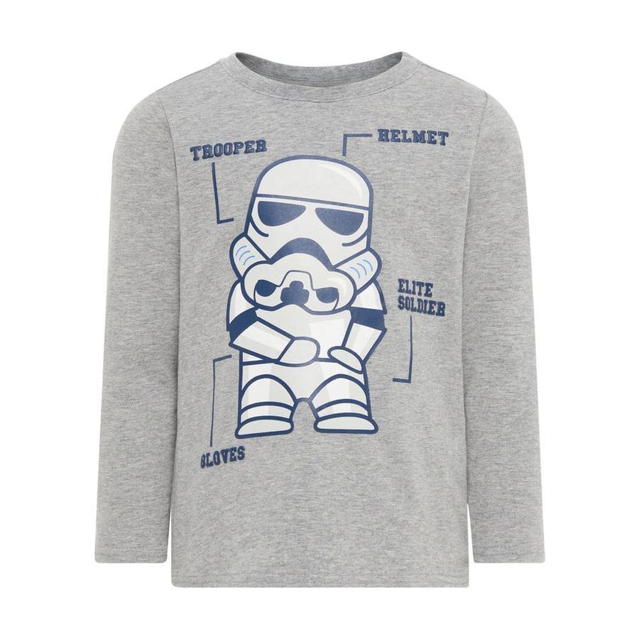 name it T-shirt enfant manches longues Star Wars mélange gris