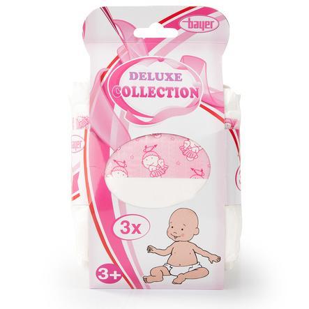 """BAYER DESIGN Pannolini per Bambole """"Deluxe Collection"""""""