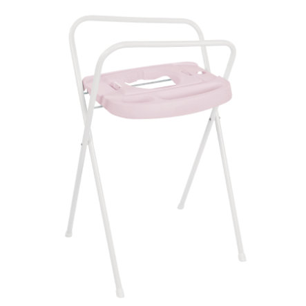 bébé-jou® kovový stojan Click na vaničku Blush Baby Party 98cm růžový