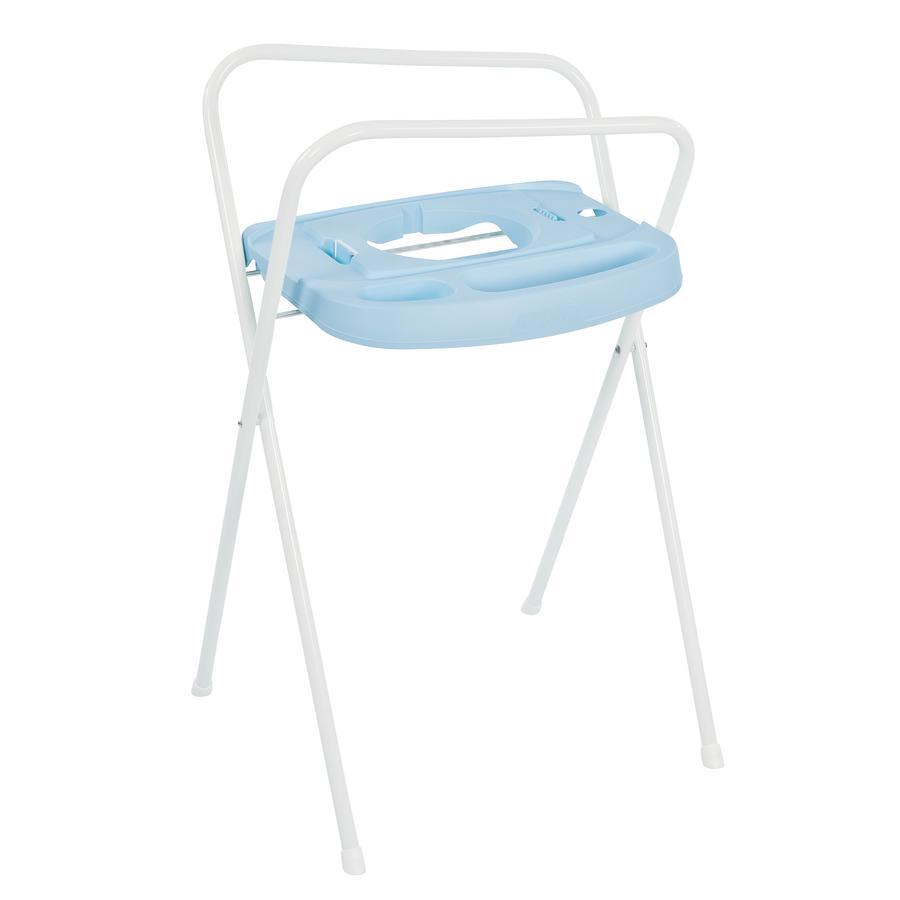 bébé-jou® kovový stojan Click na vaničku Wally whale 103 cm modrý