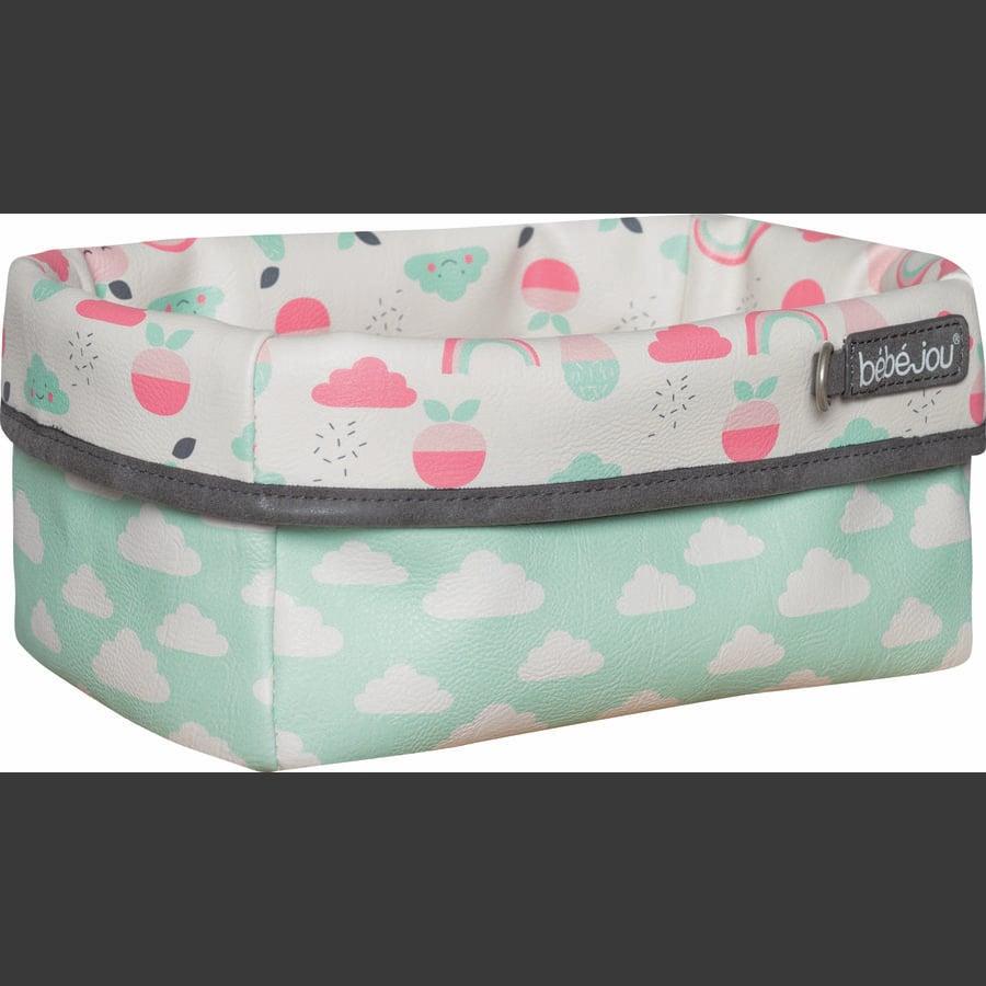 bébé-jou® Förvaringskorg Design: Blush Baby in Flamingo Pink
