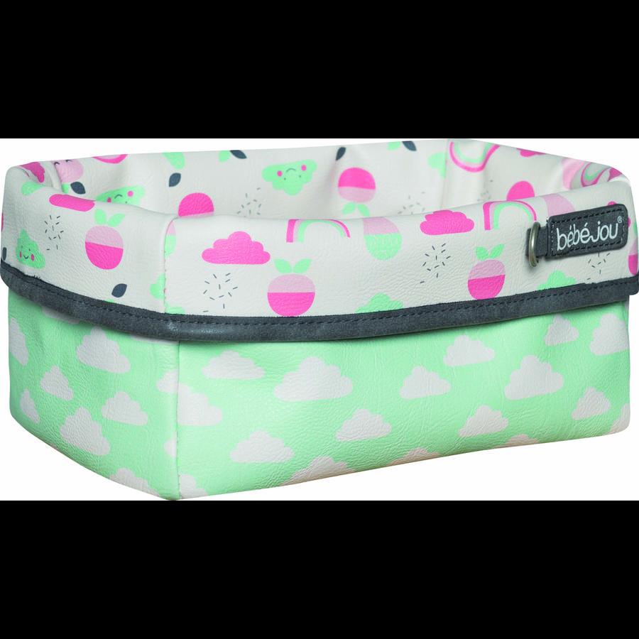 bébé-jou® Košík na kojenecké potřeby Design: Blush Baby in Flamingo Pink