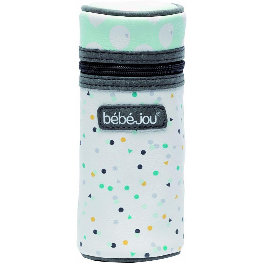 bébé-jou® Bolsa para biberón Confetti Party in Florida verde claro