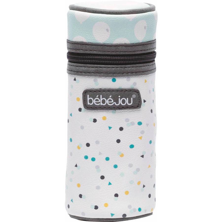bébé-jou® Pouzdro na lahvičku Design: Confetti Party in Florida mint