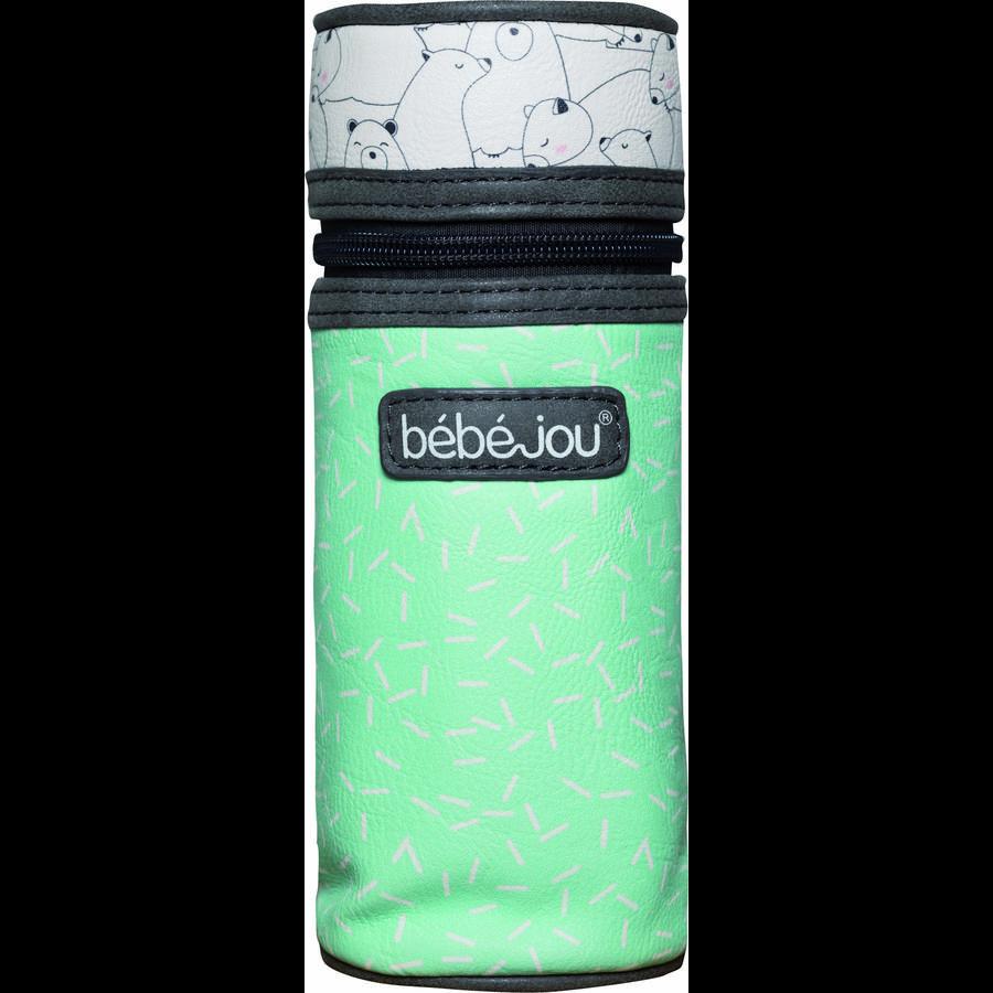 bébé-jou® Flasketaske Design: Bo og Bing i mint