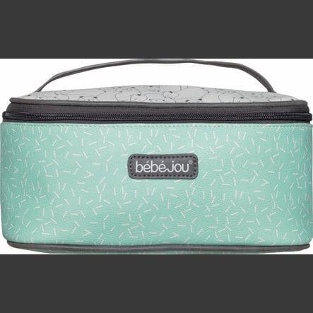 bébé-jou® Beautycase Design: Bo en Bing in mint