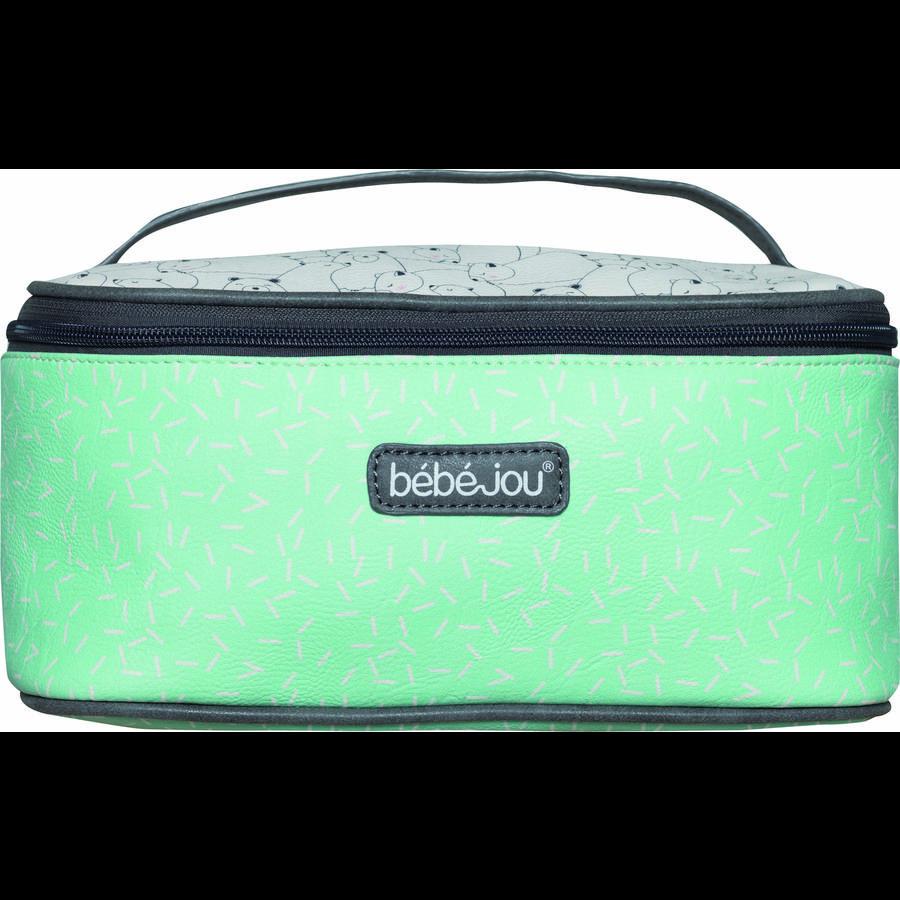bébé-jou® Beautycase Design: Bo und Bing in mint