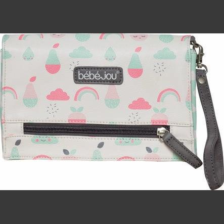 bébé-jou® Estuche para pañales Diseño: Blush Baby en rosa flamenco